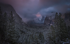 The Clearing Storm (WJMcIntosh) Tags: winter snow yosemite 28 nikkor tunnelview clearingstorm 1424 vision:mountain=0933 vision:sunset=0617 vision:outdoor=0983 vision:clouds=096 vision:sky=0966 vision:ocean=057
