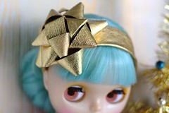 Violet Poppy Dolls - The 'Pretty as a Package' Headband