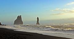 black sand beach 2 (scott1346) Tags: seascape black beautiful iceland sand wonderous 1001nights lavasand glacierformed 1001nightsmagiccity ringexxcellence flickrstruereflection1