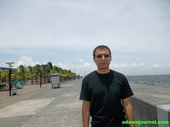 Manila Bay, Manila, Philippines. In front of the Mall of Asia.