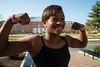 Deana Parris (kelseybhughes) Tags: portrait news college sports muscles profile gymnast gymnastics strong athlete umd journalism terps universityofmaryland diamondback