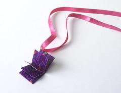 Origami création - Didier Boursin - Médaillon livre