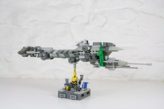 Missile Cruiser 'Similce' (ska2d2) Tags: lego scifi cruiser departuremissile similce