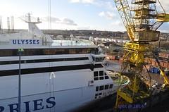 Taking a Break....... (@ tb 2018) Tags: ferry birkenhead drydock ulysses irishferries cammelllaird