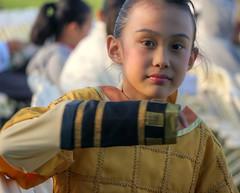 I am ready! (PeterThoeny) Tags: girl costume raw performance unioncity fav30 hdr chinesedance photomatix 1xp nex6 sel55210 loganstadium