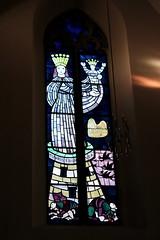 Ivory Tower (overthemoon) Tags: church schweiz switzerland 1971 suisse stainedglass svizzera glise sion valais romandie richardseewald stthodule