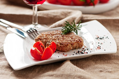 Homemade cutlet (Oxana Denezhkina) Tags: food white dinner turkey tomato lunch restaurant salad dish background beef plate vegetable chips meat roast grill pork steak barbecue snack meal chop portion cooked grilled cutlet fried filet loin roasted sirloin beefsteak fillet hamberger