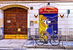 Graffiti (3) (Marco Trovò) Tags: italy graffiti italia milano case canon5d murales lombardia hdr palazzi biciclette zonatortona viasavona marcotrovò marcotrovo
