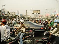 Motorcycle Traffic (mvcjr) Tags: road street traffic vietnam motorcycle saigon trafficjam hochiminh motorvehicle motorists