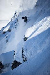First Track Freeride Chandolin (valaiswallis) Tags: snow ski mountains switzerland pow freeride wallis valais chandolin freerideworldtour
