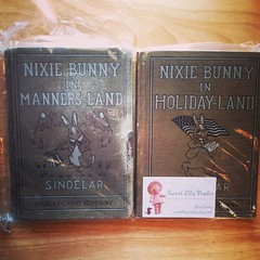 Starting my Nixie Bunny story book collection! Need 2 more... :D (Snapshots by ©Nixy J Morales) Tags: square squareformat iphoneography instagramapp uploaded:by=instagram