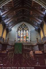 sanctuary (tapervern) Tags: ontario canada church gothic hamilton stainedglass pulpit santuary nationalhistoricsite stpaulspresbyterianchurch vernwhite