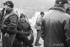 IMG_1446 copy (fiqria) Tags: portrait blackandwhite bw georgia gold mine protest strike kazreti humansofgeorgia   goldminestrike  kazretiminersstrike  grmgold   sakdrisiplant sakdrisi