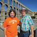 "Spain Ben Markwardt '06 and his father-in-law, Mark G. Dykes '76, M '79 visited ruins in Segovia. • <a style=""font-size:0.8em;"" href=""http://www.flickr.com/photos/49650603@N07/13929247269/"" target=""_blank"">View on Flickr</a>"