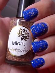Lagoa Azul - Cora + Midas - Penélope Luz (Natalia Breda) Tags: azul cora esmaltenacional penélopeluz indiepolish