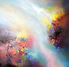 Hope (Vi Shu) Tags: abstract art painting acrylic mixedmedia abstractart contemporaryart contemporary modernart abstractpainting mlning