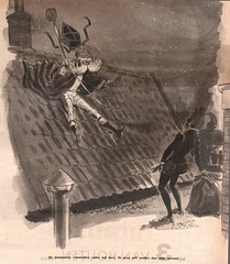 Sint nicolaas   cartoon dec 1956 (janwillemsen) Tags: sinterklaas spiegel 1956 sintnicolaas magazineillustration