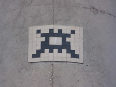 Space Invader LY_10 (tofz4u) Tags: streetart tile lyon mosaic spaceinvader spaceinvaders invader 69 rhone mosaque artderue ly10