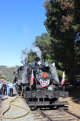 Quincy Railroad Co. #2 (Alco 2-6-2T) in Sunol, CA (CaliforniaRailfan101 Photography) Tags: 4thofjuly mallet independenceday baldwin alco nilescanyonrailway nilescanyon 262t ncry sunolca 2662t quincyrailroadco2 clovervalleylumberco4 nilescanyonrailway4thofjulysteamspecial