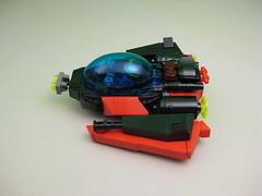 Spyrius Interceptor (DJ Quest) Tags: lego contest interceptor 2014 starfighter spyrius 14x14x6