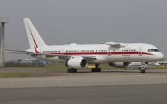 Honeywell Aviation Services Boeing 757-225 (Ewout Pahud de Mortanges) Tags: test amsterdam canon aircraft aviation flight nederland boeing honeywell schiphol oudoor n757hw