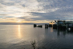 _DSC3135 (marilynwe) Tags: 2016 edmonds washington ferrylanding kingston sunrise water ferry