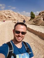 Te paard naar Petra