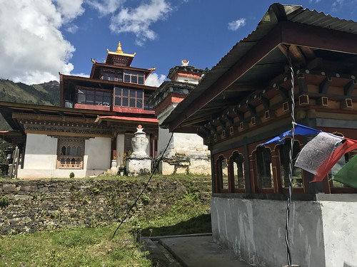 Second temple above Taktsang