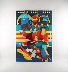 What Is The Game, 1 (Dmitri Aske) Tags: dmitriaske art plywood artwork soccer football