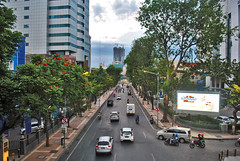 Jalan Pemuda, arah barat (BxHxTxCx (more stuff, open the album)) Tags: surabaya kota city street jalan