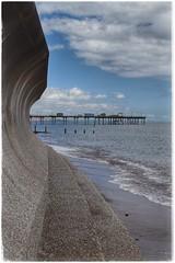 Teignmouth Sea Wall (GIIBRG) Tags: seawall teignmouth beach pier devon februarystorms2014