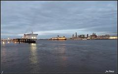 Views from Birkenhead (exacta2a) Tags: liverpoolmerseyside birkenhead buildings boats