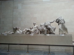 Parthenon Marbles - East Fronton (taurusnonana) Tags: london britishmuseum parthenon elginmarbles greekart