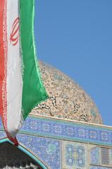 Mosque du Cheikh Lotfollah (mop plaer) Tags: iran perse persia ispahan esfahan cheikhlotfollah mosque mosque religion god dieu islam musulman muslim dme dome bleu blue isfahan flag drapeau