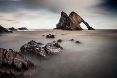 Bow Fiddle Rock (Grant Morris) Tags: bowfiddlerock bowfiddle rocks rockstack seaside seascape beach waterscape waterfront water longexposure scotland scottishcoastline grantmorris grantmorrisphotography canon 5d3 24105 nd10