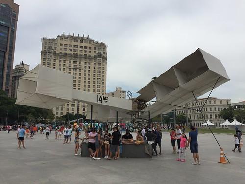 14bis, Santos Dumont, Museu do Amanhã, RJ.