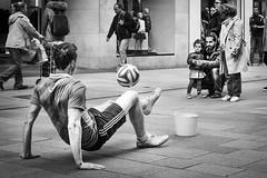 Football skills (lisnalty) Tags: dublinstreetphotography streetphotography football henrystreetdublin