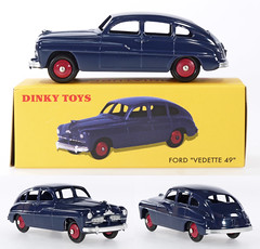 DIF-A-24Q-Vedette (adrianz toyz) Tags: atlas reissue dinky toys france french diecast toy model 24q ford vedette 1949 adrianztoyz