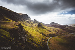 The Quiraing (Steffen Walther) Tags: 2016 reise schottland uk scotland britain skye hebrides quiraing canon5dmarkiii canon1740l reisefotolust road mountains trotternish clouds sheep outdoor travel landscape vsco