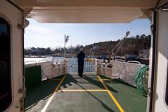 Taking the ferry - Gothenburg Archipelago (avantgarde_w2) Tags: schweden sweden gothenburg southernarchipelago goteburg   wideanglelens weitwinkel tokina1116mmf28 styrs
