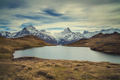 Bachsee (CROMEO) Tags: bachsee grindelwald alpes swiss suiza euro europe mountain nature lake lago long exposure cromeo cr photography nikon clouds first glaciar awesome view point