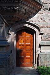 gothic entry (BehindBlueEyes) Tags: nj newjersey princeton princetonuniversity mercercounty door