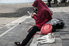 Life is Boring Without Smartphone-DSC_5237 (thomschphotography3) Tags: indonesia java banyuwangi beach girls cat smartphones streetphotography asia southeastasia