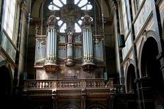 St. Nicolaas Basiliek in Amsterdam 20130606_IMG_3352 (Gerard-E) Tags: churches kerken netherlands nederland holland dutch organ orgel nicolaas st amsterdam centrum prhendrikkade citycentre innenstadt front speeltafel pipes