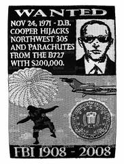 FBI Civil Aviation Security Program - D.B. Cooper (GMAN) (Nate_892) Tags: fbi federal bureau investigation patch gman police agent special sabotage unabomber civil aviation security 100 years db cooper heist theft sniper rocker tab camo