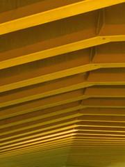 Ripple - Rippen (eckbert.sachse) Tags: pattern muster geometry geometrie gold orange brcke bridge static statik 2016 hafencity freieundhansestadthamburg freeandhansatownofhamburg