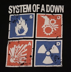 System or a Down Graphic Tee (itstayedinvegas-4) Tags: graphicteeshirt music systemofadown toxicity