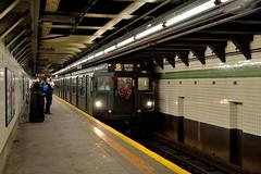 23 Street (grumpyff) Tags: subway mta nycta r1 r9 holidaynostalgiatrain train transit 2avenue station americancarandfoundrycompany ny nyc newyorkcity newyork 381