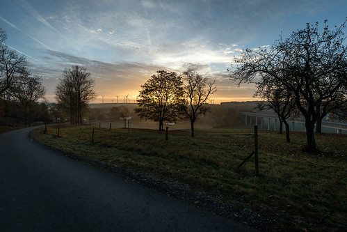 Sunrise around Paderborn