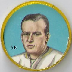1963 Anonymous Back - No Brand (English Only) / Nalley's Potato Chips CFL Plastic Football Coin - RALPH SAZIO (Coach) #58-NB (High Number / Short Print) (Hall of Fame 1998 / Builder) (Hamilton Tiger Cats / Canadian Football League) (Treasures from the Past) Tags: 1963 cfl nalleys coins potatochips hunters krunchee humptydumpty nocompanyname nobrand canadianfootballleague nobrandbilingual bilingual football cap disc lownumber highnumber shortprint footballcoins footballcaps vintage ralphsazio coach hamiltontigercats hof halloffame
